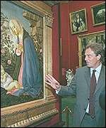PM Tony Blair visits an art gallery