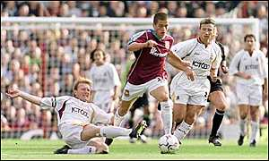 Stuart McCall, Joe Cole and Dan Petrescu