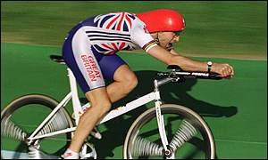 Obree goes Superman