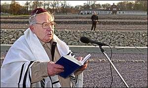 Rabbi reads Kaddish at former death camp