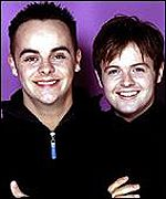 Anthony Partlin and Declan Donnelly