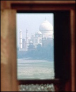 View of Taj Mahal