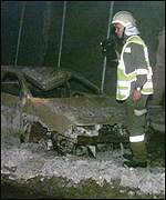 Tauern tunnel post-blaze