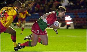 Wales v PNG