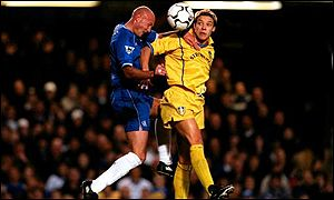 Alan Smith and Frank Leboeuf