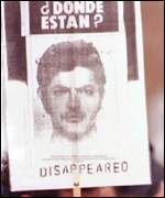 Disappeared poster