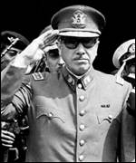 General Augusto Pinochet after the coup