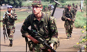 UN troops in Sierra Leone