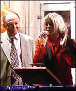 Ken Livingstone and Billie Piper