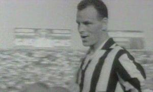 John Charles, playing for Juventus