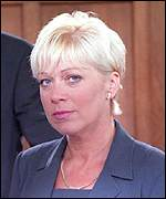 Natalie Barnes, played by actress Denise Welch