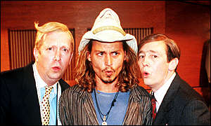 Mark Williams, Johnny Depp, Paul Whitehouse