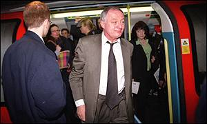 Ken Livingstone on tube
