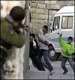 Confrontation in east Jerusalem