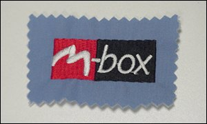 M-box badge BBC