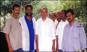 Rajkumar with envoys