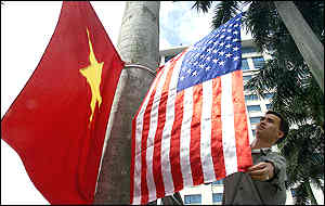 Flags in Hanoi