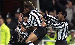 Gary Speed and Newcastle