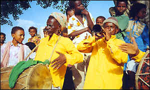 Sidi band players