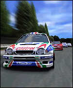Playstation 2 game - GT3 screenshot