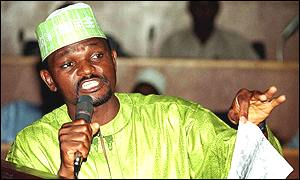Major Hamza al-Mustapha at the human rights commission