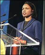 Condoleezza Rice at Republican convention