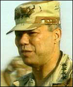 Colin Powell in Saudi Arabia