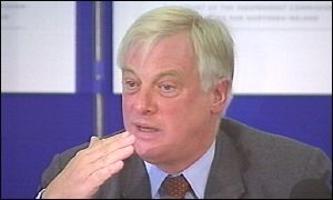 Chris Patten urged young nationalists to join new service