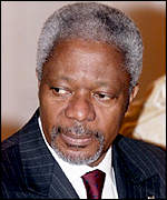 United Nations Secretary General Kofi Annan