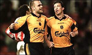 Danny Murphy and Robbie Folwer
