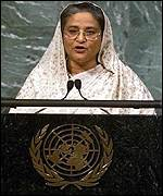 Sheikh Hasina at the UN