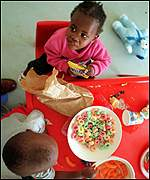 HIV-infected children in South Africa