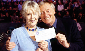 Judith Keppel and Chris Tarrant