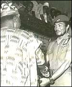 JJ Rawlings and President Limann