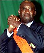 Ivorian President Laurent Gbagbo