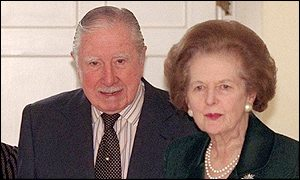 General Pinochet and Baroness Thatcher