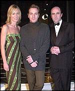 Victoria Smurfit, Ewan McGregor and Lorcan Cranitch