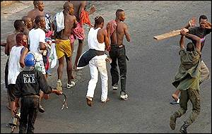 Police clash with RDR supporters in Abidjan