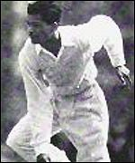 Ramadhin in his heyday with the West Indies
