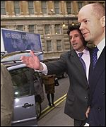 Serbastian Coe and William Hague