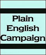 Plain English Campaign logo