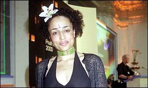Zadie Smith at the Orange awards earlier this year