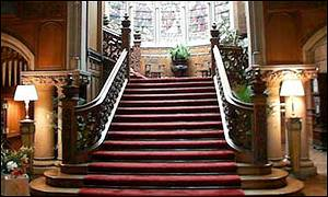 The Staircase at Skibo Castle