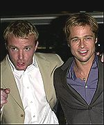 Ritchie and Brad Pitt t