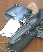 gun and holster