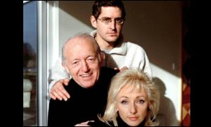 Louis Theroux with Paul Daniels and Debbie McGee