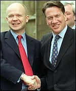 William Hague and Michael Portillo