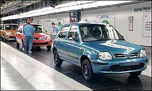 Micras on production line
