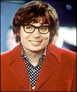 Mike Myers as austin power