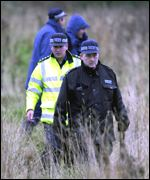 Metropolitan Police in field search